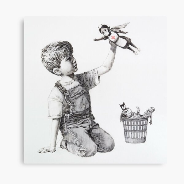Game Changer - Banksy Canvas Print