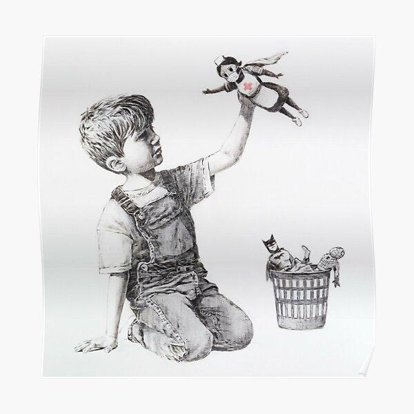 Changeur de jeu - Banksy Poster