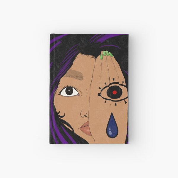 Hand Tattoo Hardcover Journal