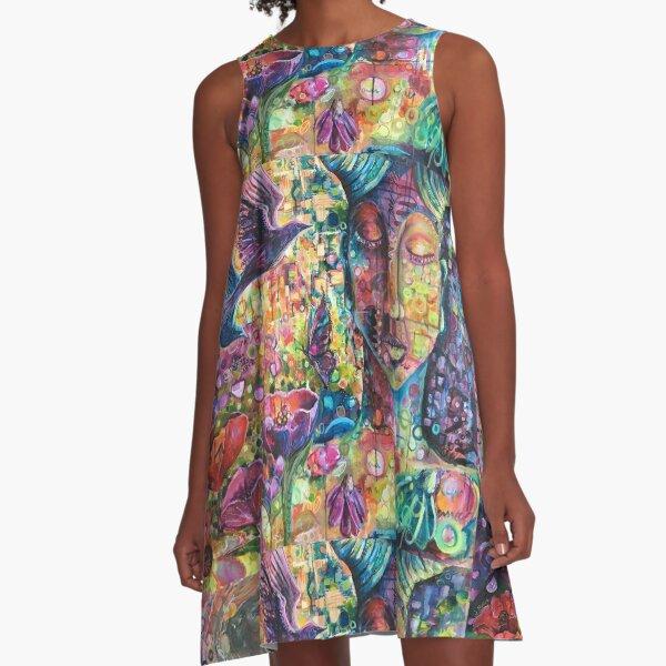 Magical Goddess of Perseverance A-Line Dress