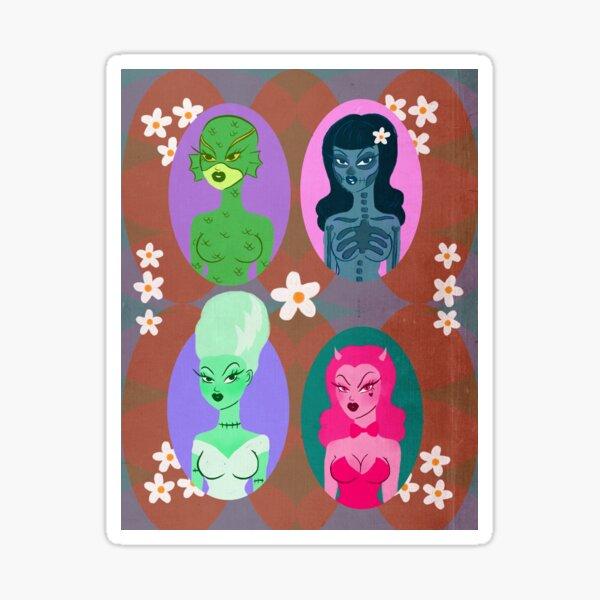 Spooky Girls Club Sticker