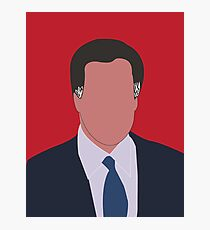 Mitt Romney Digital Illustration Portrait Photographic Print