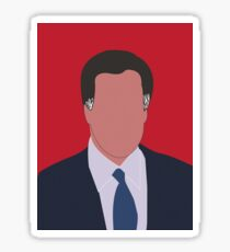 Mitt Romney Digital Illustration Portrait Sticker