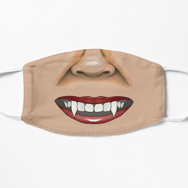Vampire mask Flat Mask