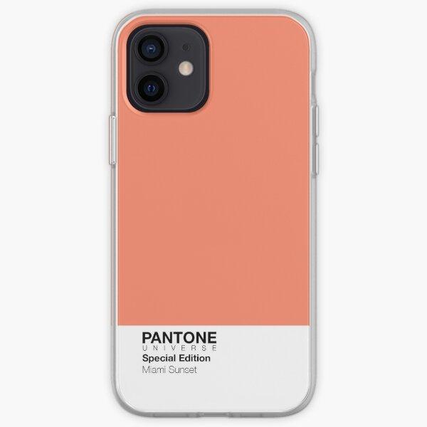 PANTONE + Miami Sunset Cases! iPhone Soft Case