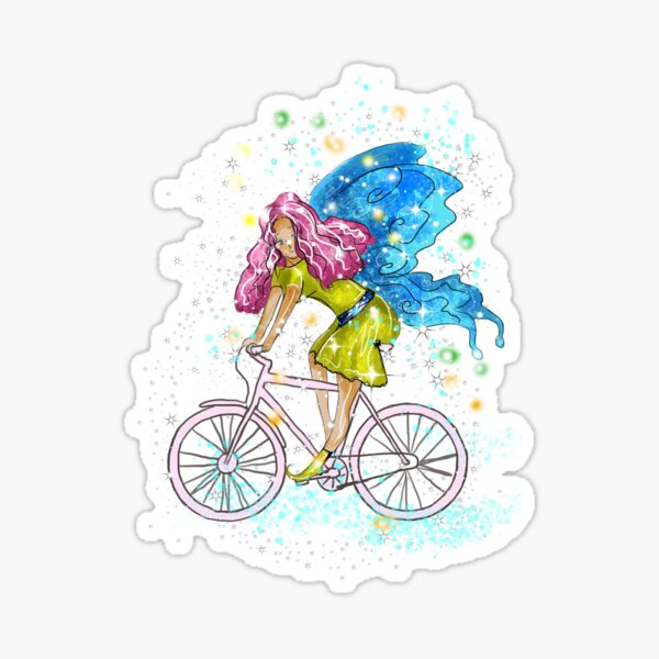 Waneta The Transportation Fairy™  Sticker