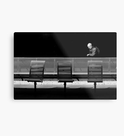 The Passerby Metal Print