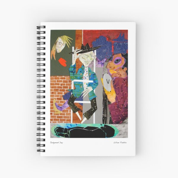 Judgment Day Spiral Notebook