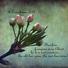 2 Corinthians 5:17 Greeting Card by FrankieCat
