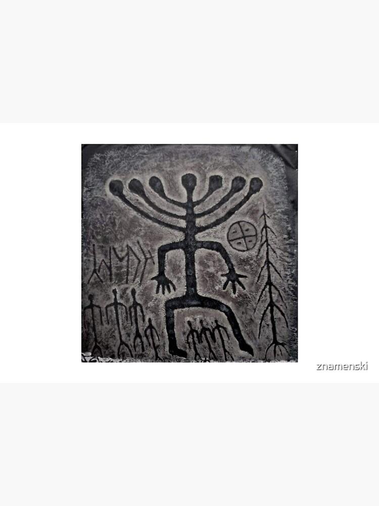 Siberia Ancient Petroglyph, Siberia Khakassia Petroglyph by znamenski