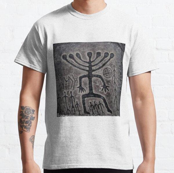 Siberia Ancient Petroglyph, Siberia Khakassia Petroglyph Classic T-Shirt