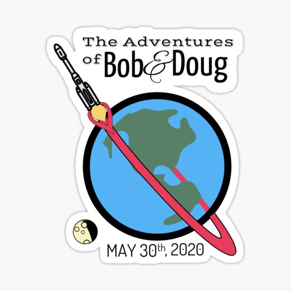 The Adventures of Bob and Doug Sticker