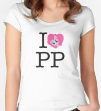 I <3 Pinkie Pie Women's Fitted Scoop T-Shirt