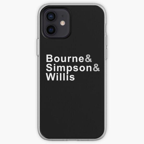 Bourne & Simpson & Willis iPhone Soft Case