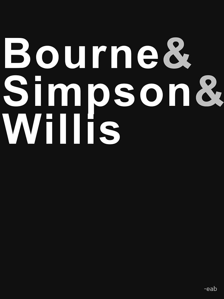 Bourne & Simpson & Willis by -eab