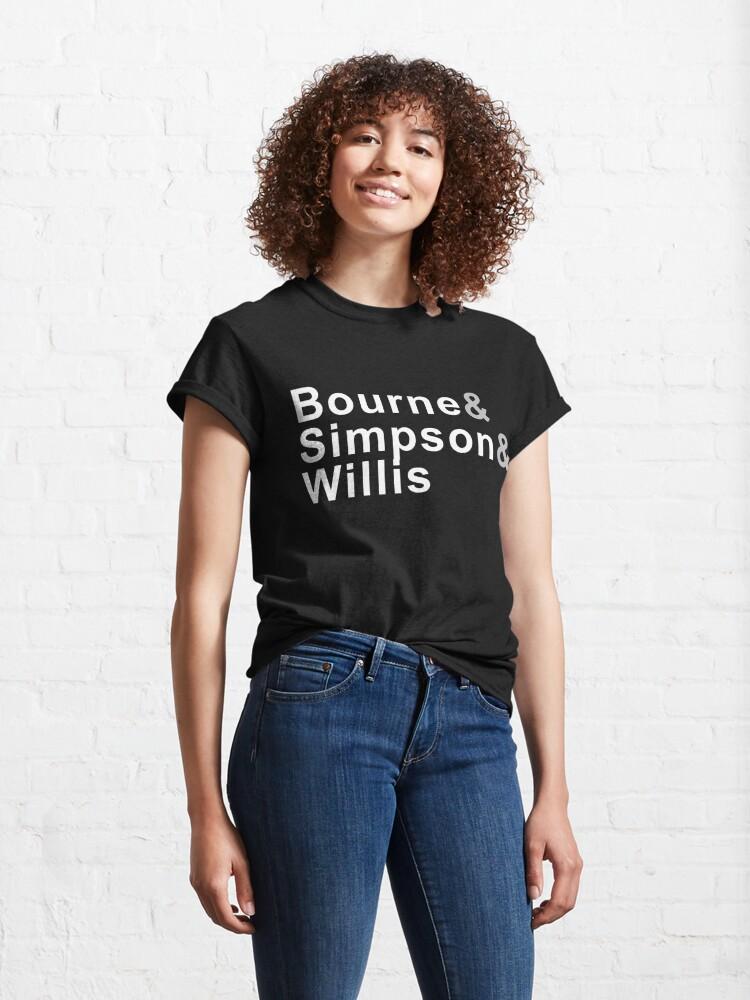 Alternate view of Bourne & Simpson & Willis Classic T-Shirt