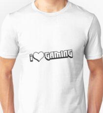 I love Gaming Bit Unisex T-Shirt