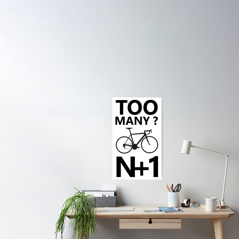 N+1 Cycling Poster