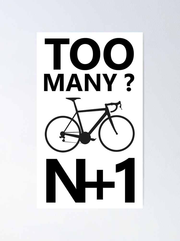 Alternate view of N+1 Cycling Poster