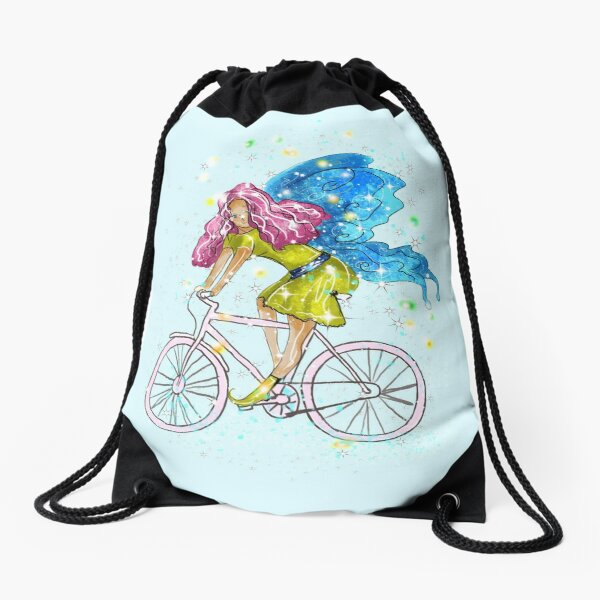 Waneta The Transportation Fairy™  Drawstring Bag