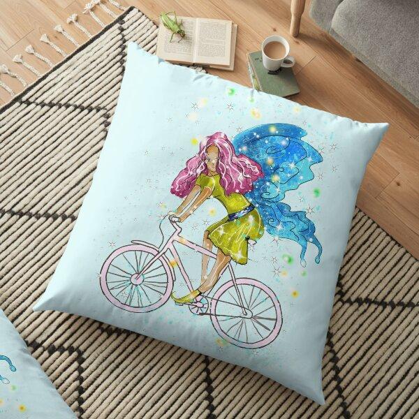 Waneta The Transportation Fairy™  Floor Pillow