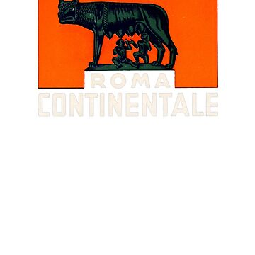 Roma Continentale by vintagegraphics