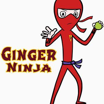 Ginger Ninja by brendanwatson