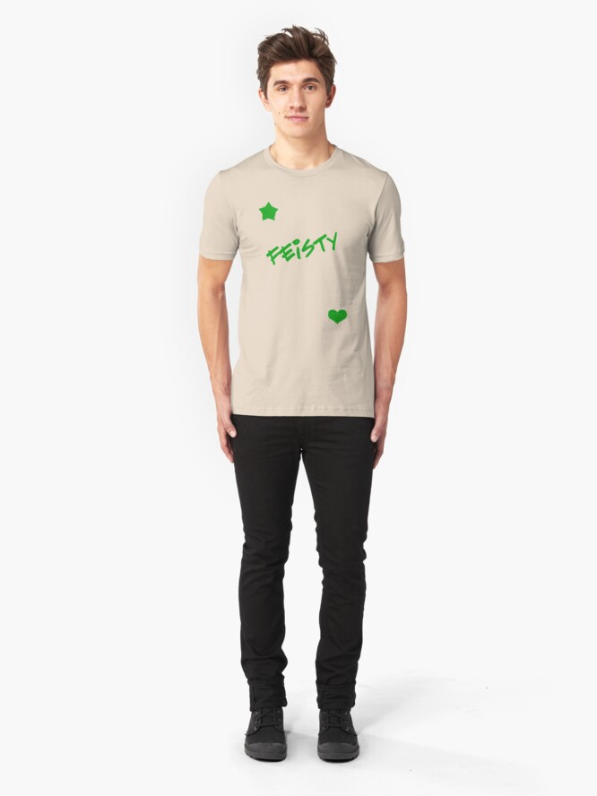 Alternate view of Feisty! Slim Fit T-Shirt