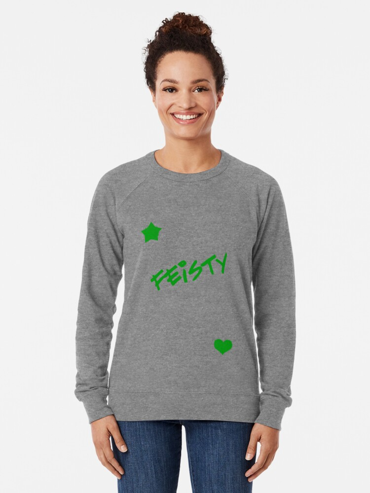 Alternate view of Feisty! Lightweight Sweatshirt