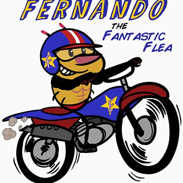 Fernando The Fantastic Flea by brendanwatson
