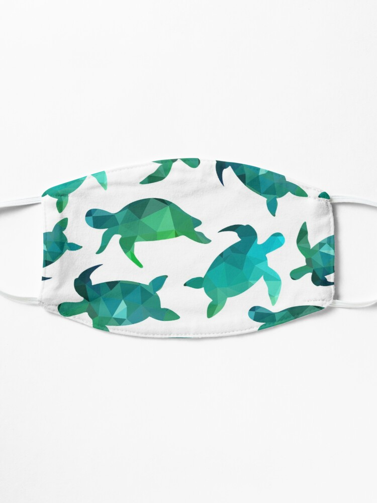 Alternate view of Little Sea Turtle Mask