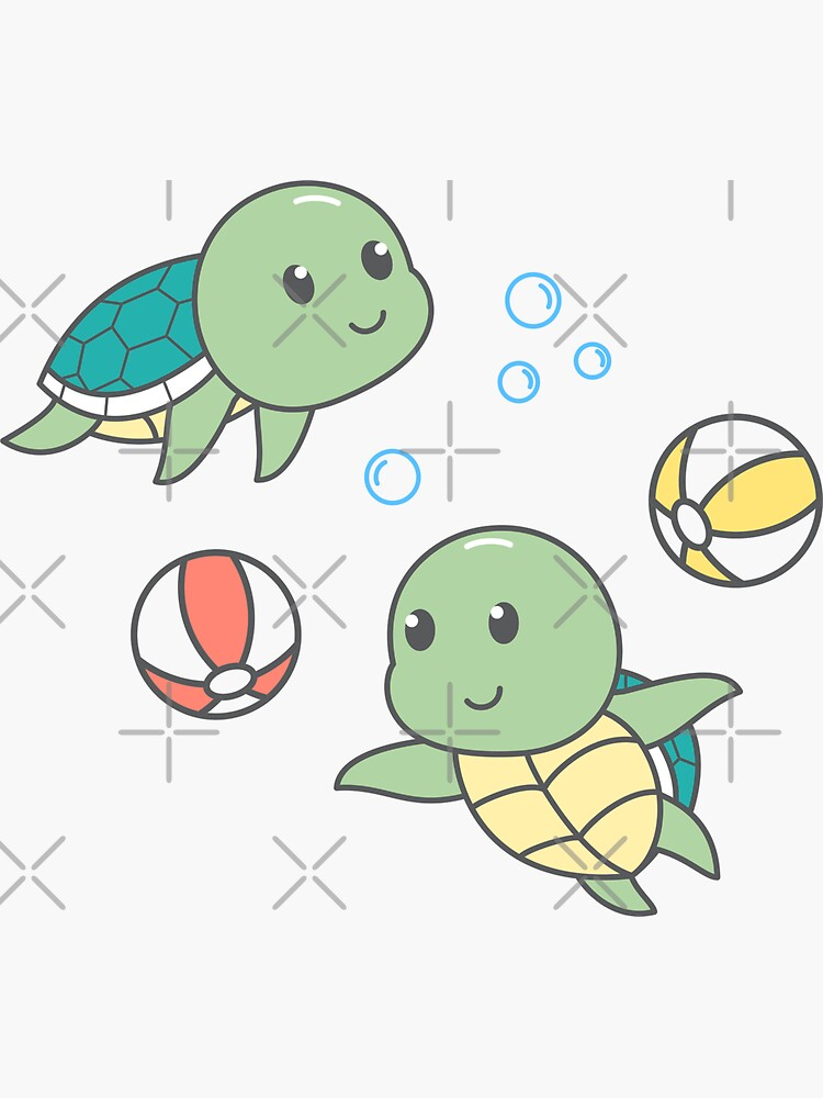 Cute Turtle pattern by graphicmeyou