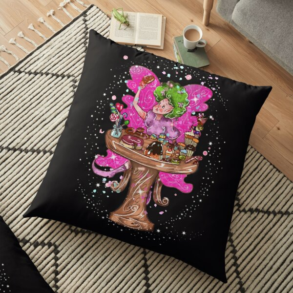 Saretta The Sweets, Foods, & Refreshments Fairy™ Floor Pillow