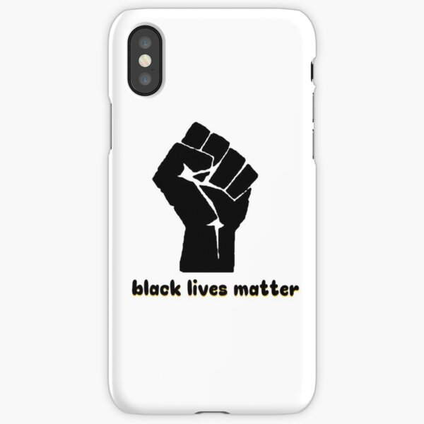 Black Lives Matter Fist iPhone Snap Case
