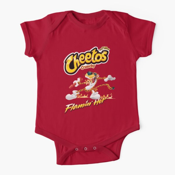 Flamin' Shirt Short Sleeve Baby One-Piece