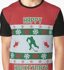 Happy Hockeydays Graphic T-Shirt