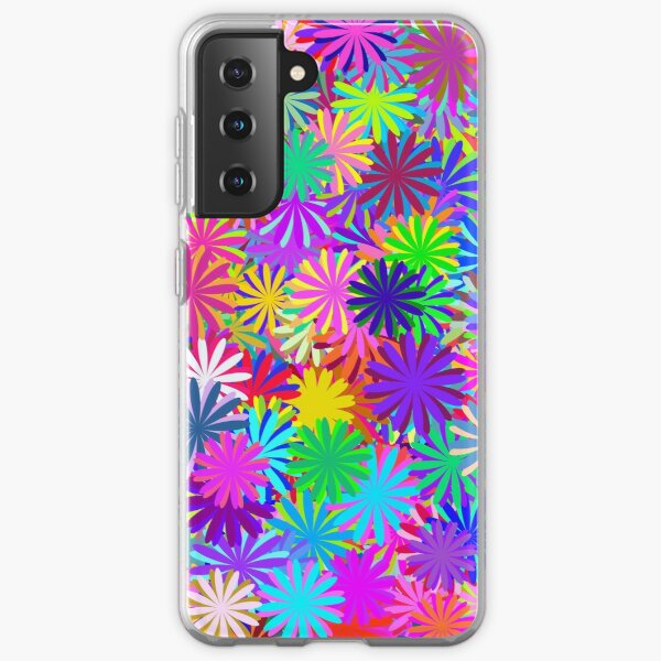 Meadow of Colorful Daisies Samsung Galaxy Soft Case