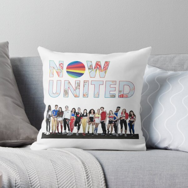 Now United Photo Now United  Throw Pillow