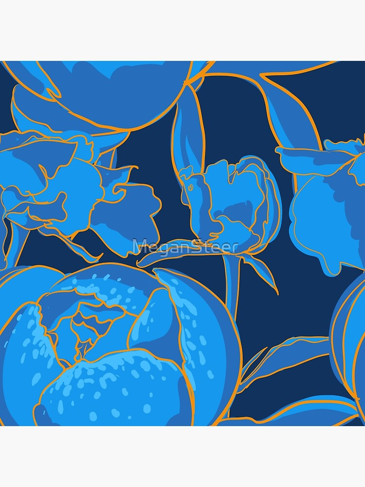 Blue Peony by MeganSteer