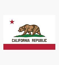 California Flag Photographic Print