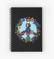 Peace Sign Spiral Notebook