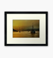 Carina In The Mist Framed Print