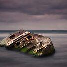 Shipwrecked - Carpenter Rocks South Australia by Mark Shean