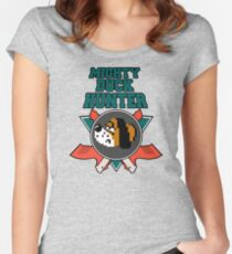 Mighty Duck Hunter Women's Fitted Scoop T-Shirt
