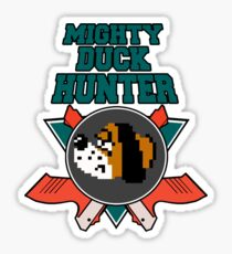 Mighty Duck Hunter Sticker