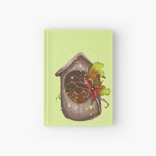 Nestie Shimmer The Birdhouses & Nests Fairy™ Hardcover Journal