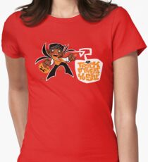 Trick O' Treat Yo Self Womens Fitted T-Shirt