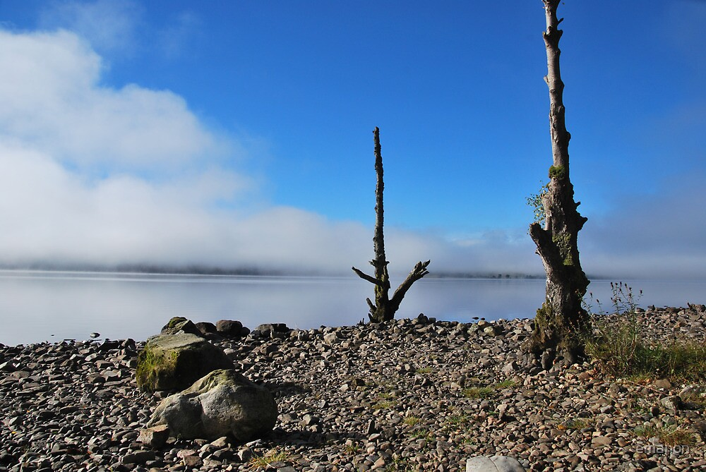 Loch Tummel in the Mist by emanon