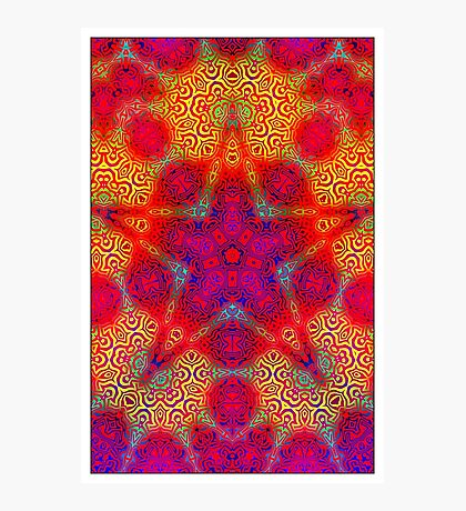 Starburst Photographic Print