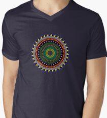 Trippy Mandala Men's V-Neck T-Shirt